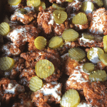 Manchester Farm Nashville Hot Quail Sliders with Alabama White BBQ Sauce